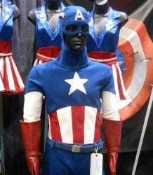 captain america auction