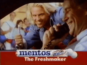 90s Mentos commercial