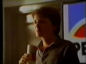 Michael J. Fox Diet Pepsi