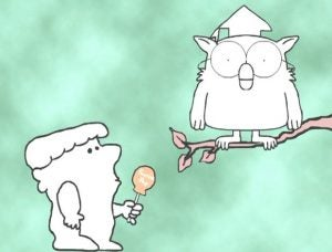 Mr. Owl and Tootsie Pop