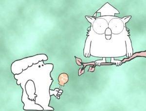 Mr. Owl and Tootsie Pop