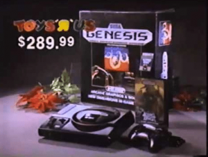 Sega Genesis Commercial