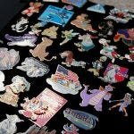 Few Disney fans can resist pin trading in the parks!