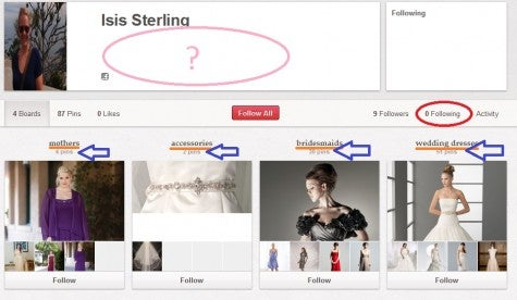 Isis Sterling pinterest