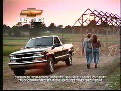 Chevrolet Like a Rock