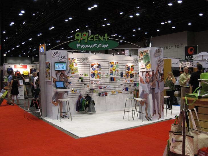 Trade show booths good better best booth ideas from for Craft supply trade shows