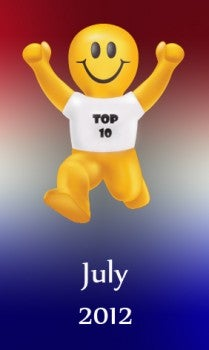 Top 10 Most Popular Promotional Products of July 2012