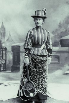 old time fish net skirt
