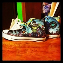 green lantern chuck taylor all star