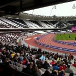 London Olympic Stadium: Don't take video of this