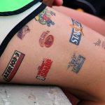 brand logo tattoos