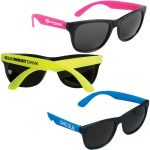 Neon Rubber Sunglasses