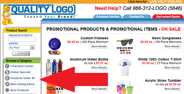 quality logo products new categories