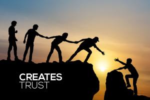 Creates Trust