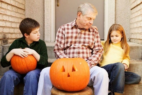 Those pumpkins on your front porch? Carve your logo into them!