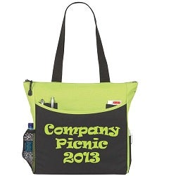 Check out this tote bag with a Tender Shoots imprint!