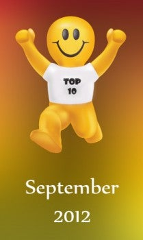Post image for Top 10 Promotional Items of September 2012