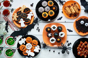 Give Out Halloween Treats