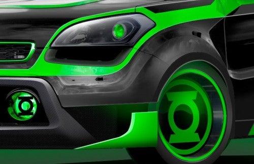 Green Lantern Car