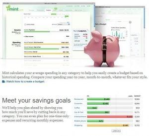 Mint.com Goals