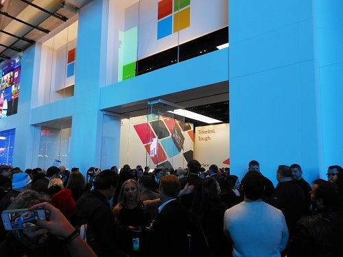 Apple Sized Line for Microsoft
