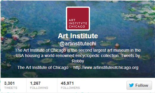 art institute twitter