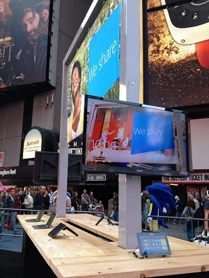 Microsoft Install in Times Square
