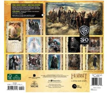 Hobbit Movie 2013 Calendar