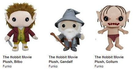 Hobbit Plushies by Funko
