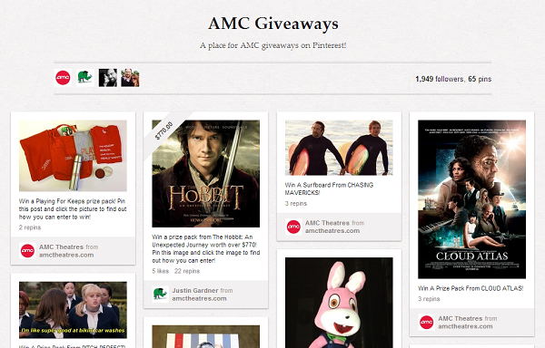 amc giveaways