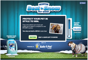 Morton salts best in show contest