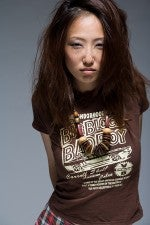 This woman does not appreciate owning one of only Big Block Bad Boy t-shirts in existence. For shame.