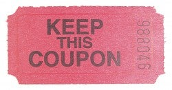"It should read: ""USE THIS COUPON."""