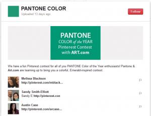 pantone art.com contest