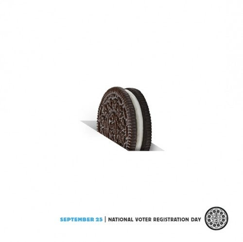 OREO voter registration