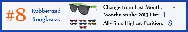 8 - Rubberized Sunglasses - jan13