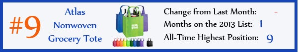 9 - Atlas Nonwoven Grocery Tote - jan13