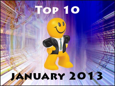 Top 10 Customer Favorite Promotional Products of January 2013