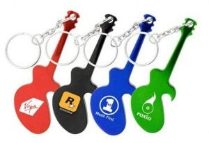 Guitar Pick Key Chains