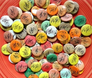 Handmade 1 Inch Buttons by buttonempire