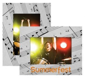 Music Paper Easel Frames
