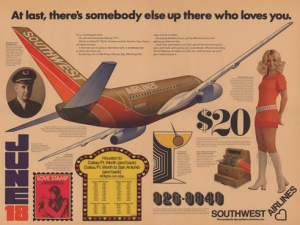 Southwest Airlines campaign