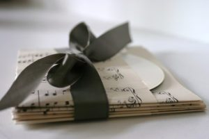 Vintage Sheet Music CD Pockets by paperhill
