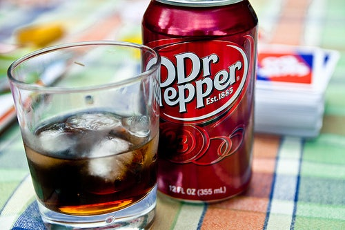 On the rocks, straight up, or from the can, Dr. Pepper is always unique!