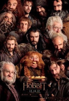 """The Hobbit"" dwarf poster"