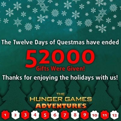 12 days of questmas