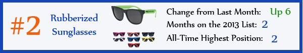 2 - Rubberized Sunglasses - feb13