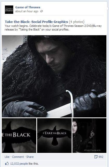 Take the Black engagement