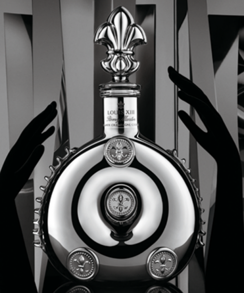 Louis XIII Black Pearl Cognac bottle goes for around $8,000