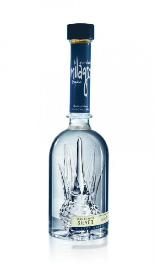 A beautiful tequila cactus within each bottle of Milagro.